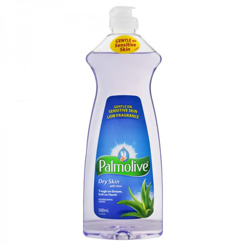 Palmolive Dry Skin With Aloe Dishwashing Liquid 500ml