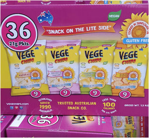 Vege Chips 36 packs