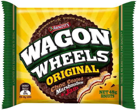Wagon Wheels 48g x 16