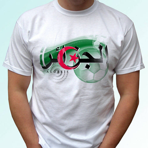 T-shirt algeria flag football