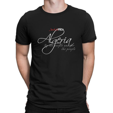 T-shirt algeria for the people
