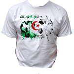 T-shirt drapeau algérien | football