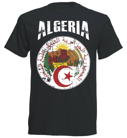 T-shirt football algérie vintage