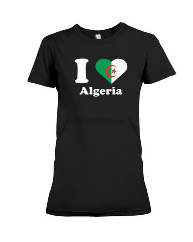 T-shirt I love algeria