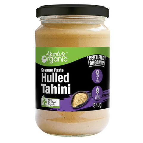 Absolute Organic Tahini Hulled 340g