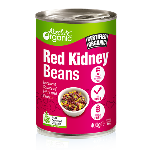 Absolute Organic Red Kidney Beans 400g