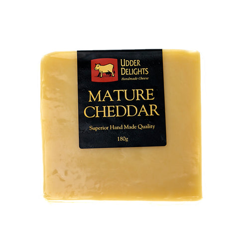 Cheese - Adelaide Hills Cheddar 180g