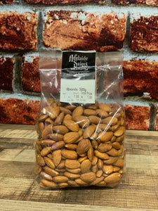 Nuts - A/Select Nat Almonds 500g