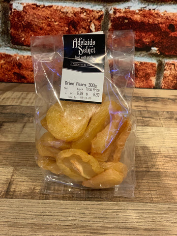 Dried Fruit - A/Select Dried Pears 300g
