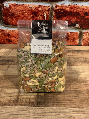 Nuts - A/Select Low Carb Mix 500g