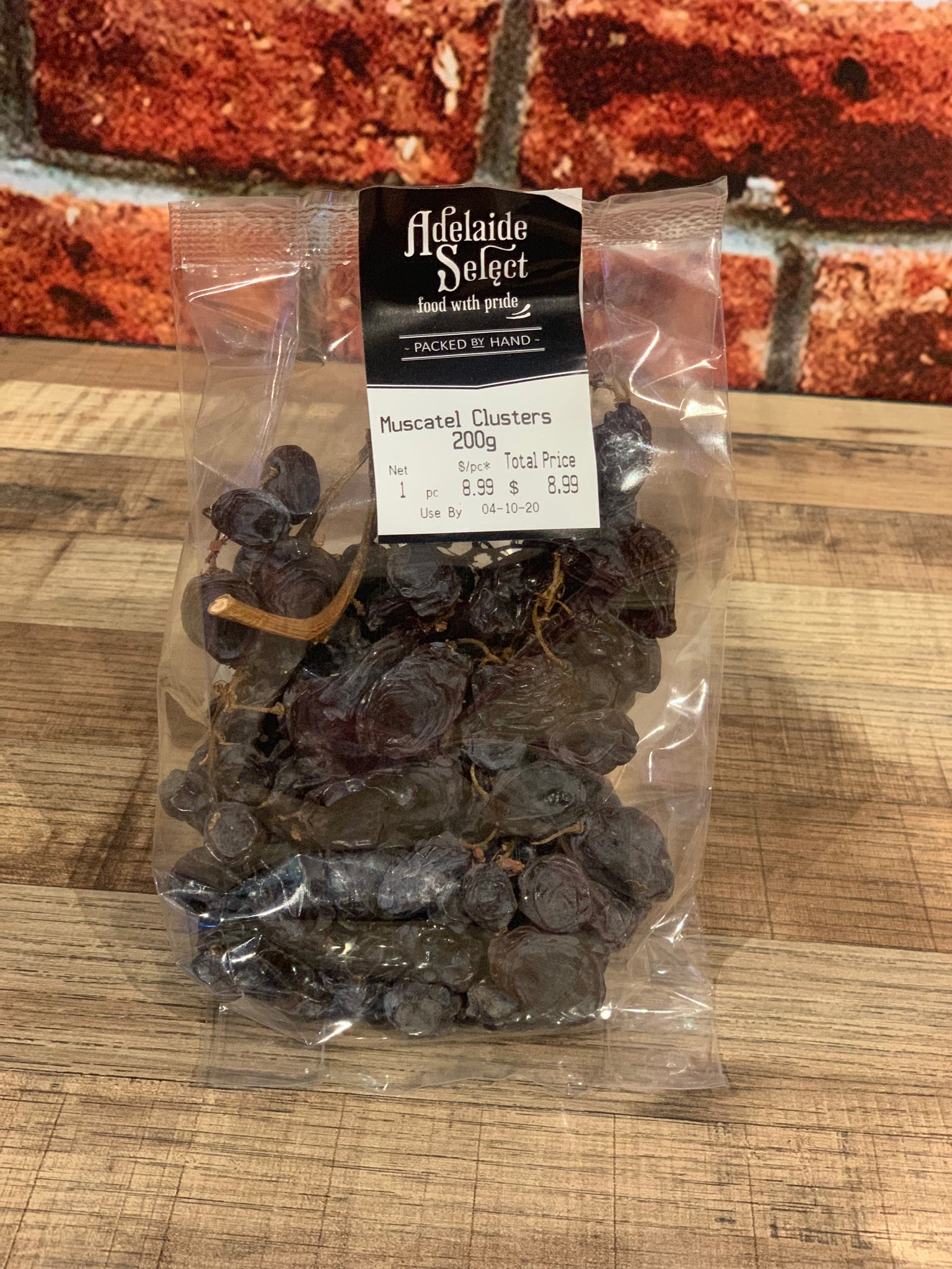 Dried Fruit - A/Select Muscatel Cluster 200g