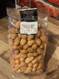 Nuts - A/Select Peanuts in Shell 300g