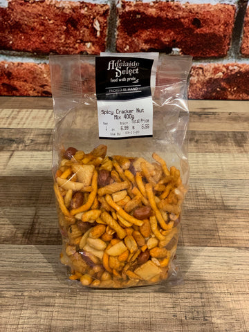 Snacks - A/Select Spicy Cracker Nut Mix 400g