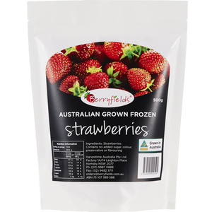 Frozen - Berryfields Strawberries 400g