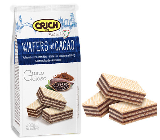 Crich Wafers Chocolate 250g