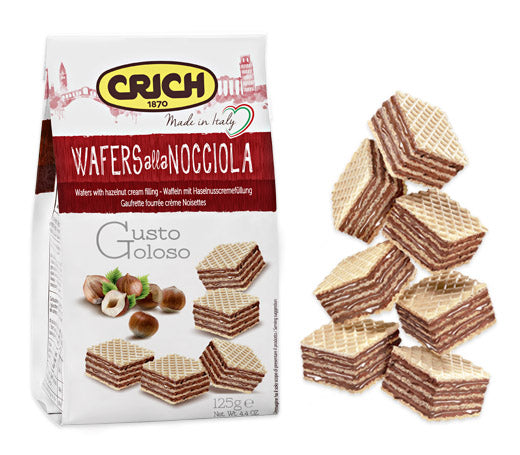 Crich Wafers Hazelnut 250g