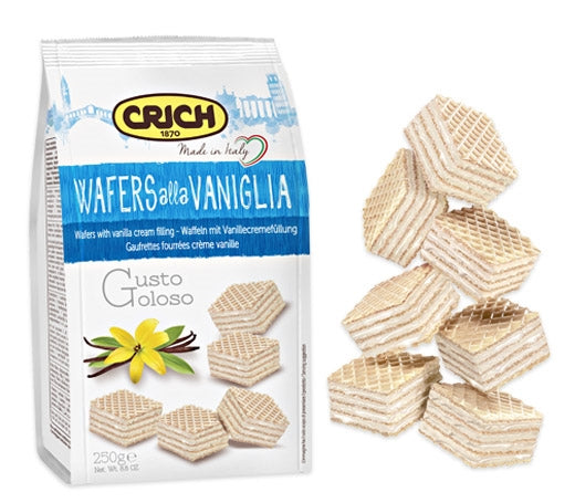 Crich Wafers Vanilla 250g