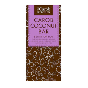 Carob Kitchen Coconut Choc Block 80g