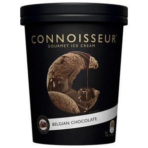 Connoisseur Ice-Cream Belgian Chocolate 1L