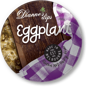 Dianne's Dips Eggplant 200g