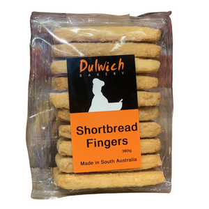Dulwich Bakery Biscuits Shortbread Fingers 380g