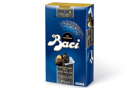 Baci Extra Dark Chocolate 70% Box 175g