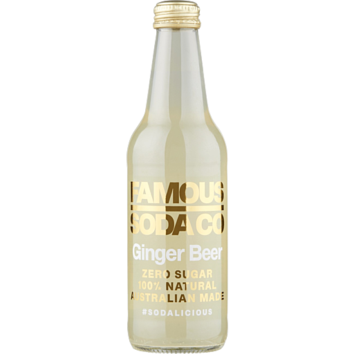 Famous Soda Co Ginger Beer 330ml