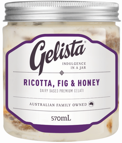 Gelista Ice-cream Fig & Honey 570ml