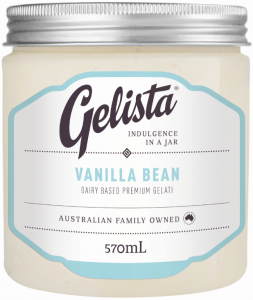 Gelista Ice-cream Vanilla 570ml