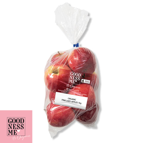 Organic Pink Lady Apples 1kg