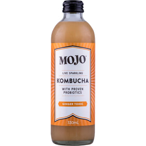 Mojo Kombucha Ginger Tonic 330ml