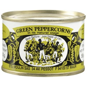 Moulin Green Peppercorns 55g