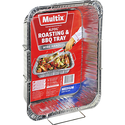 Multix Medium Size Roasting & BBQ Alfoil Tray
