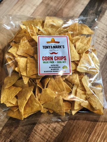 Nacho Corn Chips - Adelaide Select 500g