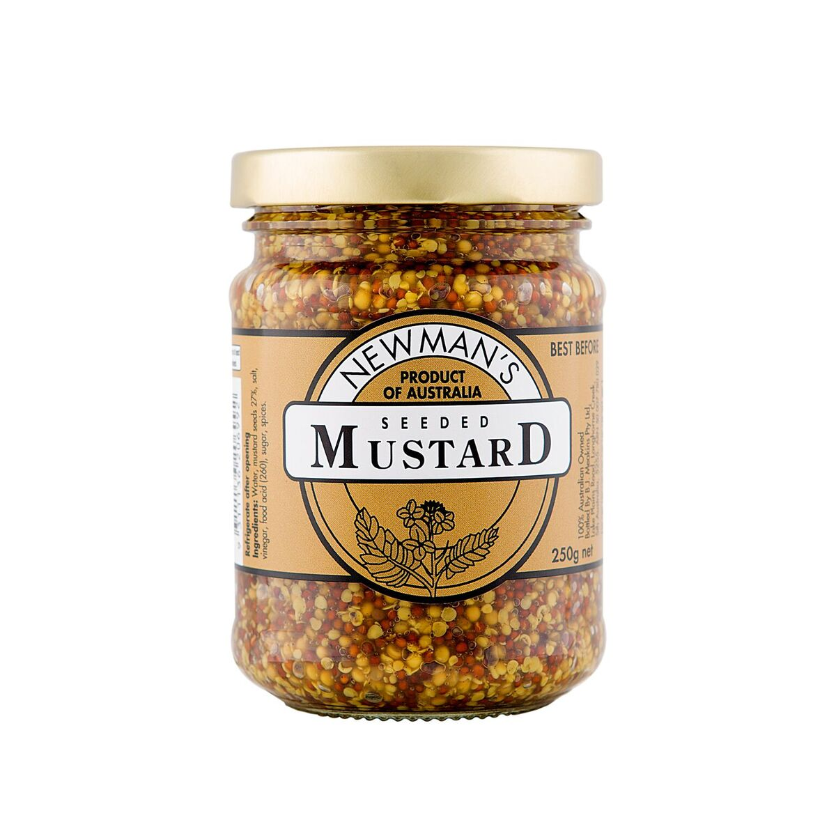 Newman's Mustard Seeded 250g