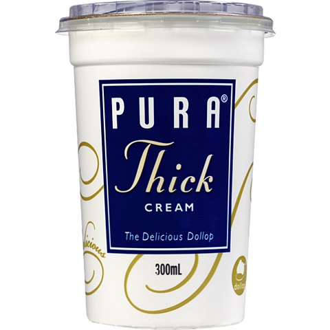 Cream - Pura Thickened Cream 300ml