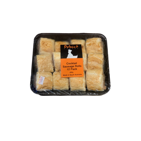 Dulwich Bakery Party Sausage Rolls 12pk