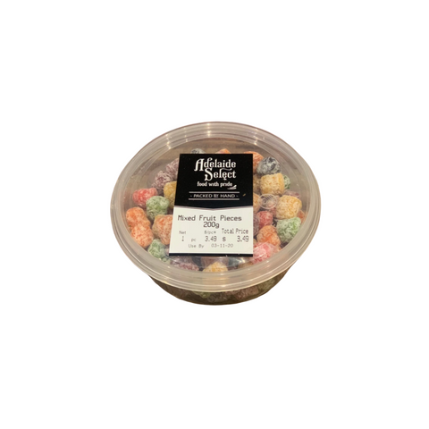 Confec - A/Select Mixed Fruit Pieces 200g
