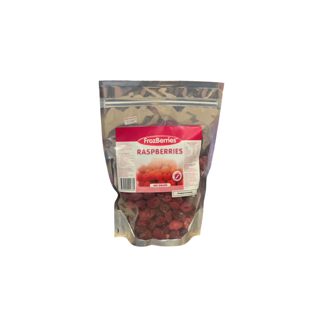 Frozen - Frozberries Raspberries 450g