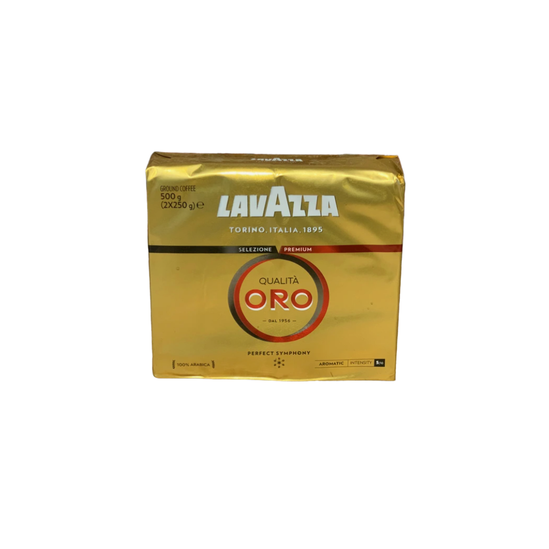 Lavazza Coffee Beans Qualita Oro Twin Pack 2X250g