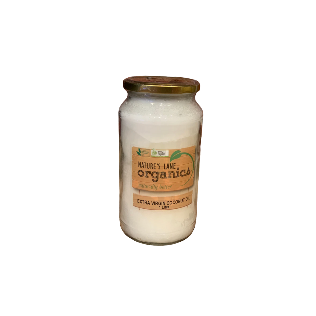 Nature's Lane Coconut Oil Jar 1lt