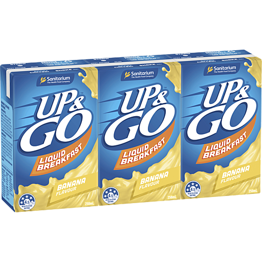 Sanitarium Up&Go Banana 3x250ml