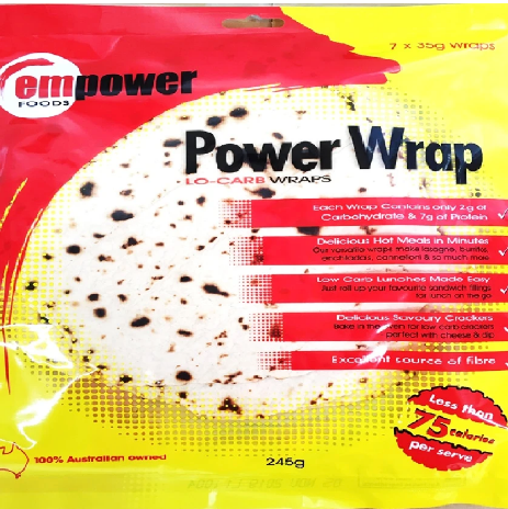 Empower Foods Power Wraps
