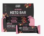 My Muscle Chef - Keto Bar - Choc Berry Crunch