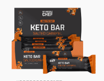 My Muscle Chef - Keto Bar - Salted Caramel