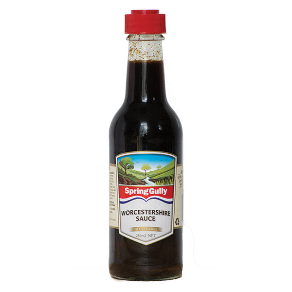 Spring Gully Worcestershire Sauce Gluten Free 250ml
