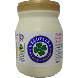 Cream - Tweedvale Pouring Cream 500g