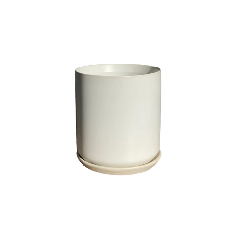 Ceramic White Pot