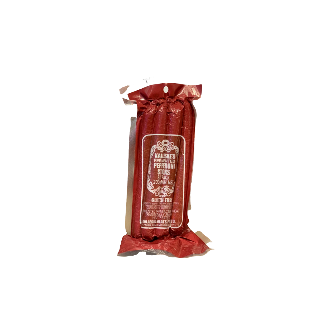 Kalleske's Pepperoni Sticks 200g