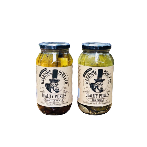 Handsome Devils Pickles 500ml Varieties